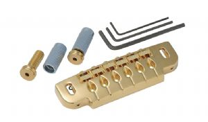 GOTOH 510C COMBINATION BRIDGE / TAILPIECE GOLD